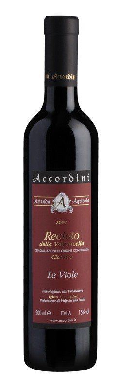 Recioto Le Viole 2007 Accordini Igino DOC 0,50l.