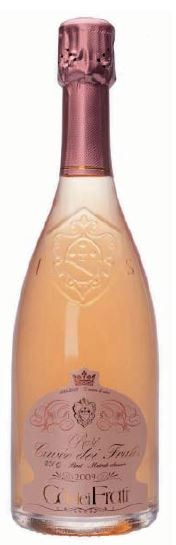 Rosé Cuvée dei Frati Spumante Brut 2011 Cà dei Frati Sirmione Gardasee 0,75l.
