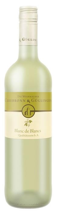 blanc de blanc Frühlingswein QbA WG 2014 Cleebronn-Güglingen. 0,75l.