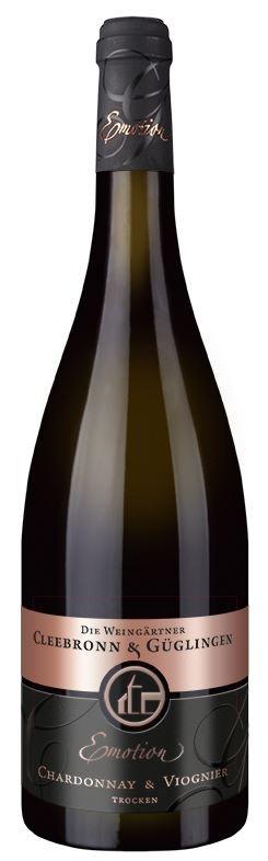 Chardonnay mit Viognier trocken Emotion CG QbA..2015 WG Cleebronn-Güglingen 0,75l.