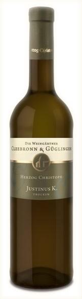 Justinus K. Herzog Chr. QbA tr. 2010 Cleebronn-Güglingen 0,75l.