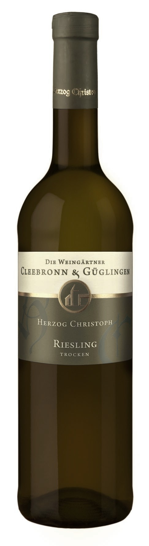 Riesling Herzog Chr. QbA tr. 2010 WG Cleebronn-Güglingen 0,75l.
