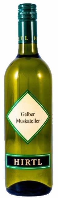 Gelber Muskateller 2014 Hirtl 0,75l.