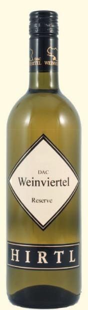Grüner Veltliner Weinviertel DAC Reserve 2015 Hirtl  0,75l.