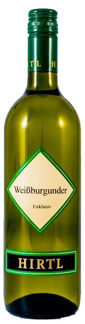Weißburgunder Exklusiv 2016 Hirtl 0,75l.