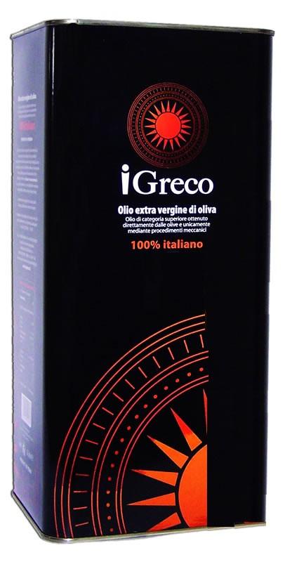Olivenöl Extravergine 100% 5Ltr. iGreco, Cariati, Kalabrien