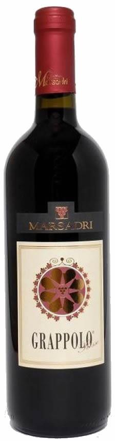 Grappolo Rosso 2016 VdT Marsadri Gardasee 0,75l.