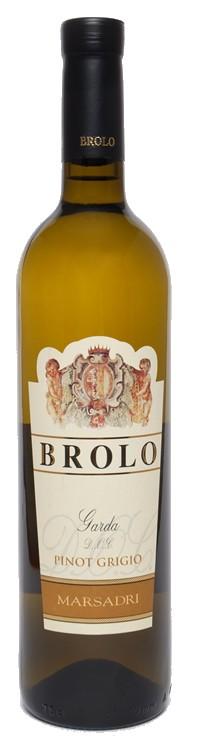Pinot Grigio Brolo 2016 DOC Marsadri Gardasee 0,75l.