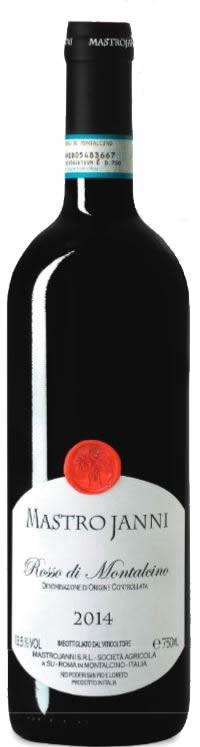 Rosso di Montalcino 2014 Mastrojanni DOCG 0,75l.