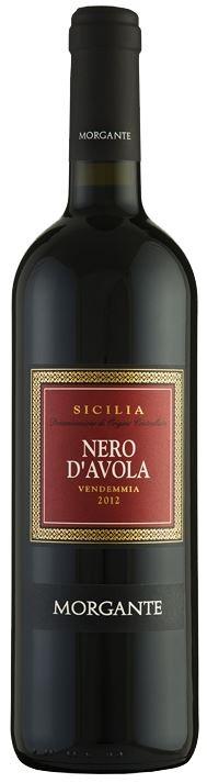 Nero d'Avola 2008  Morgante 0,75l.