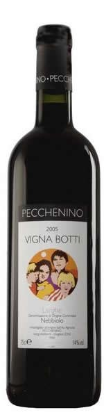 Langhe Nebbiolo Vigna Botti 2007 DOC Pecchenino 0,75l.