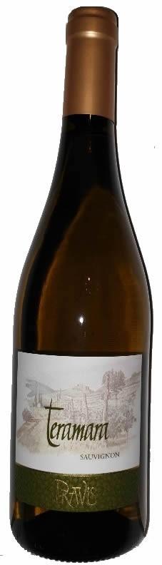 Sauvignon Blanc Teramara 2018 Pravis Trento IGT 0,75l.