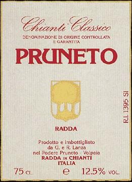 Chianti Classico Pruneto 2010 DOCG  0,75l.