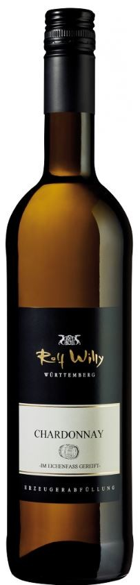 Chardonnay Orange Label Barrique 2015 QbA  Rolf Willy 0,75l.
