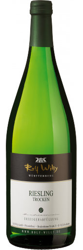 Riesling trocken 2018 QbA WG Rolf Willy 1,0 l.