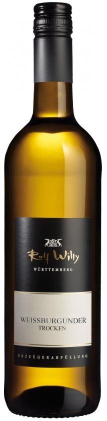 Weißburgunder trocken 2015 QbA Rolf Willy 0,75l.