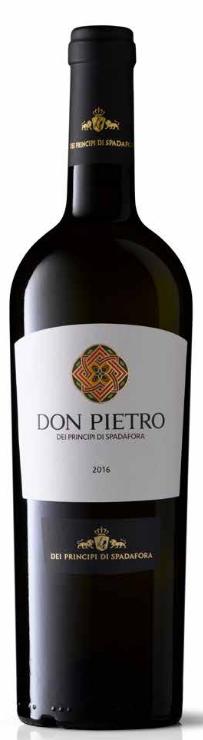 Don Pietro bianco 2015 Spadafora 0,75l