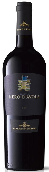 Schietto Nero d Avola 2012 Spadafora 0,75l.