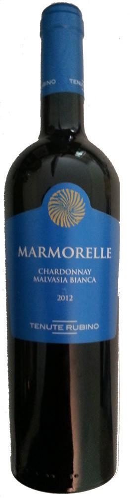 Marmorelle Salento Bianco 2016 Tenute Rubino IGT 0,75l.