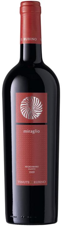 Negroamaro Salento Miraglio 2014 Tenute Rubino IGT 0,75l.