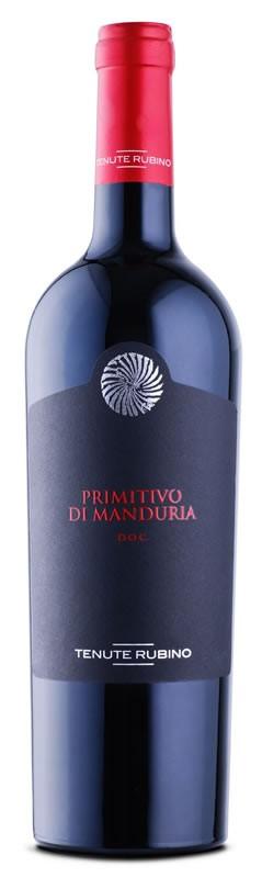 Primitivo di Manduria 2017 Tenute Rubino  DOC 0,75l.