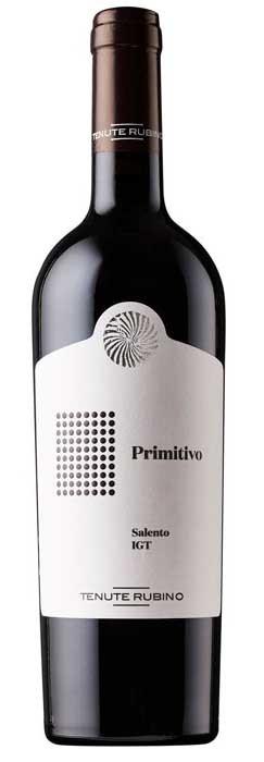 Primitivo Salento 2017 Tenute Rubino  IGT 0,75l.