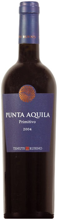 Primitivo Punta Aquila Salento 2016 Tenute Rubino  IGT 0,375