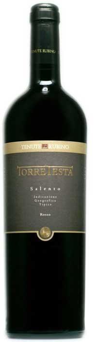 Torre Testa Salento Rosso 2010 Tenute Rubino  IGT 0,75l.