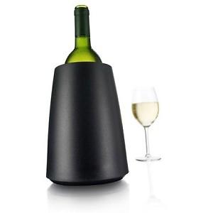 Vacu Vin Rapid Ice Weinkühler Elegant schwarz